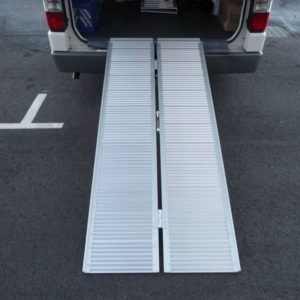 725MM X  2100MM (7FOOT) – RAMP ALUMINIUM CENTRE FOLD