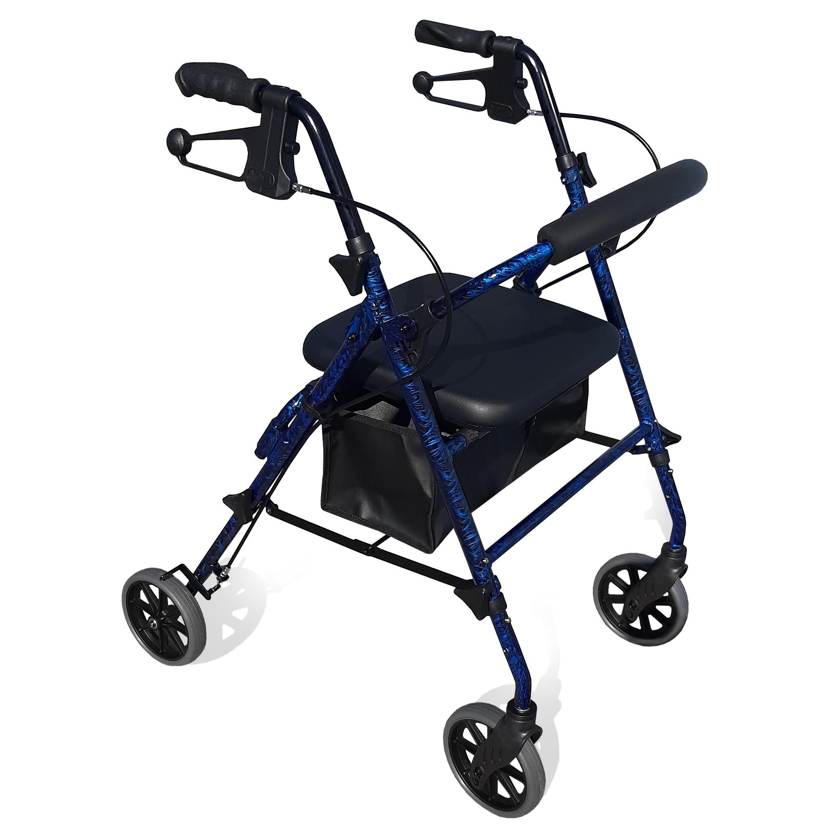 RG4209 SEAT HEIGHT ADJUSTABLE – SEAT WALKERS 6″ WHEELS