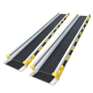 RAM70  ALUMINIUM RAMP ECONOMY TWO SECTION TELESCOPIC 180CM