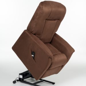MONTREAL WALL HUGGER LIFT CHAIR – BROWN PU LEATHER