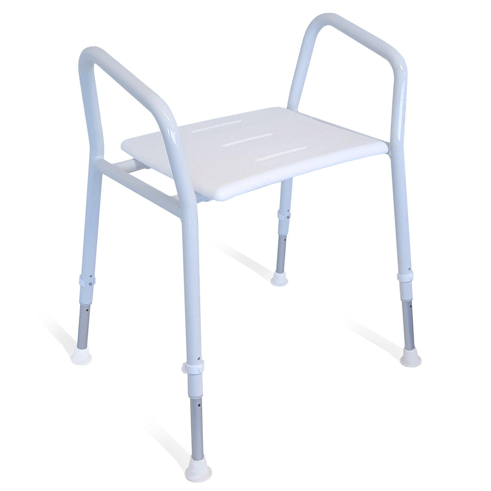 HEAVY DUTY SHOWER STOOL  RATED TO 159KG BARICARE RG5401