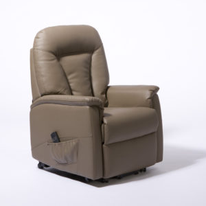 ONTARIO DUAL MOTOR LIFT CHAIR – TAUPE PU LEATHER