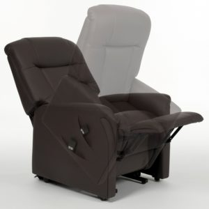 ONTARIO DUAL MOTOR LIFT CHAIR – BROWN PU LEATHER