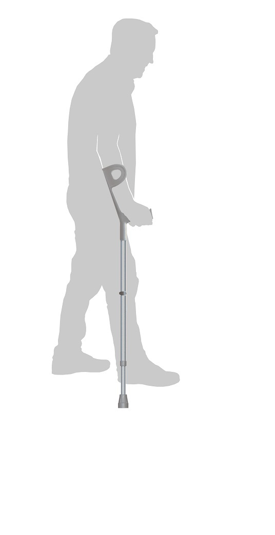 RG7804 – SIMPLE FOREARM CRUTCH WALK STICK