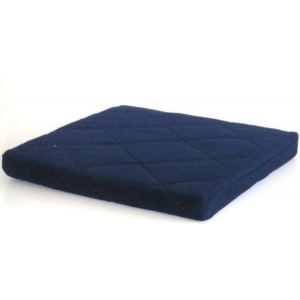 POLAR FLEECE BLUE CUSHION 50MMX450MMX450MM