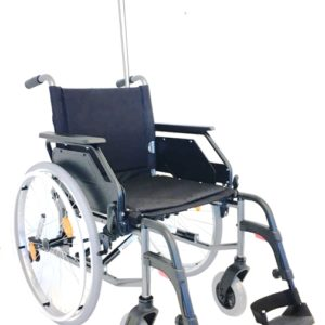 RG18HW 18″ Hospice Steel Frame Wheelchair