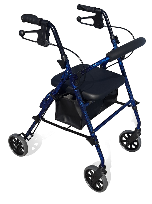 RG4209ADJ SEAT HEIGHT ADJUSTABLE – SEAT WALKERS 6″ WHEELS