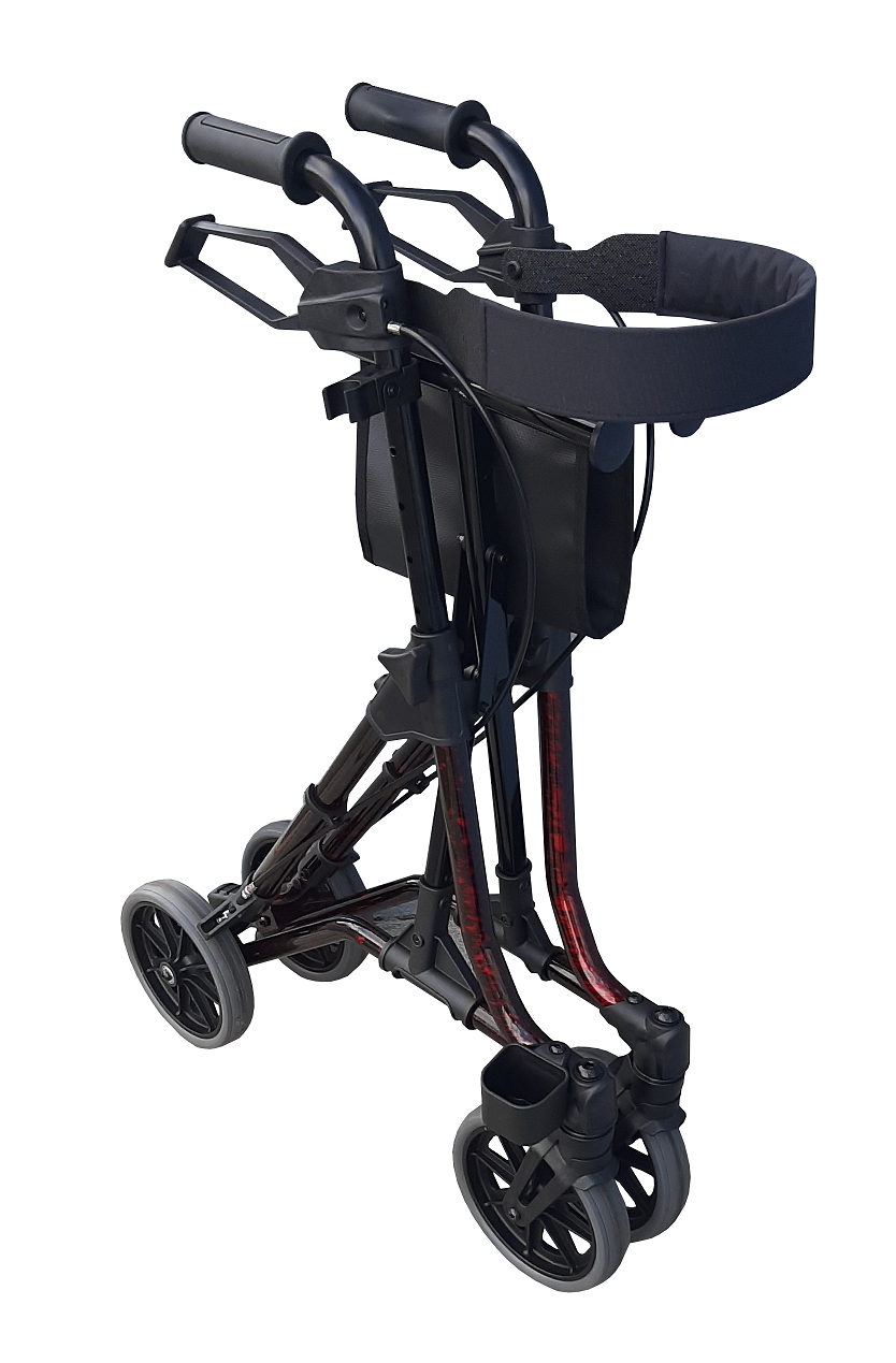 RG4500 TAIMA SIDE FOLDING SEAT WALKER 8″ CASTERS