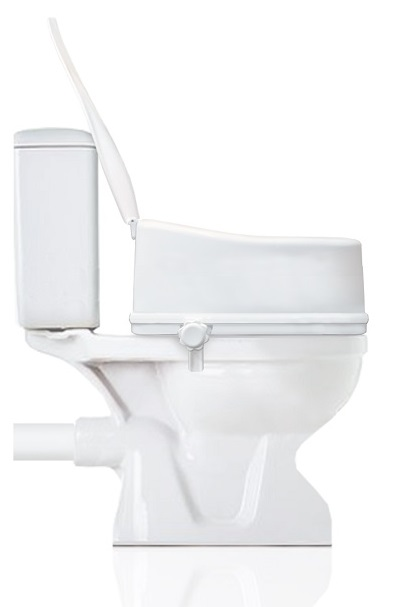Portable Toilet Seat Riser – different heights are available