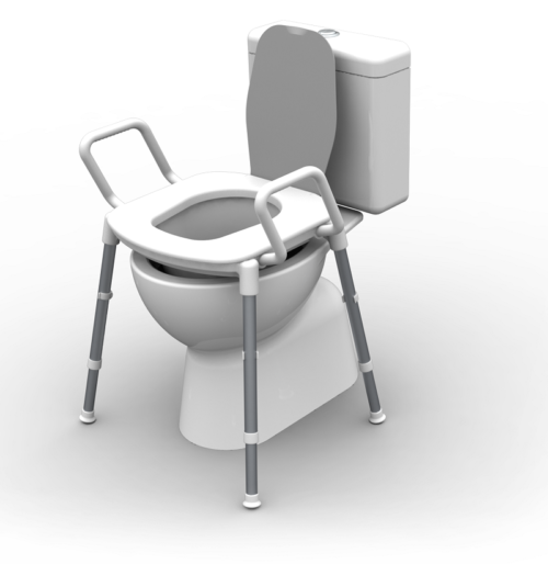 Toilet seat Raiser by Redgumbrand