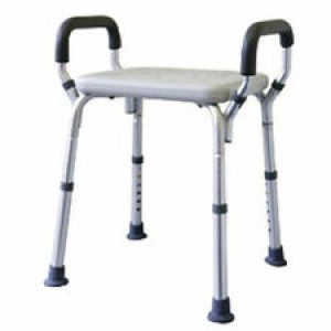 ALUMINIUM SHOWER STOOL – AUSTRALIAN STANDARDS APPROVED CAPACITY 105KG