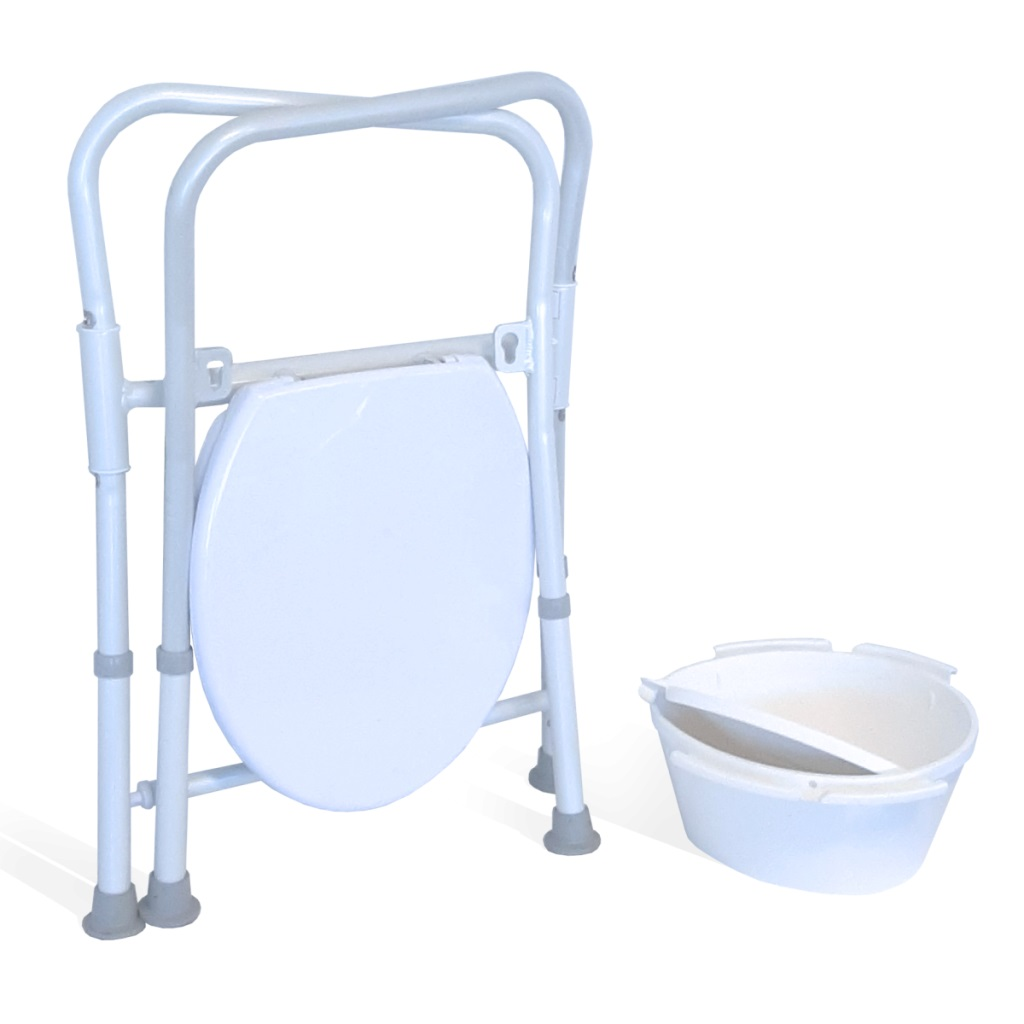 RG8560 FOLDING OVER SEAT TOILET RISER-  100 KG CAPACITY