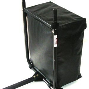 BAG CARRIER WITH INBUILT WALKING STICK HOLDER