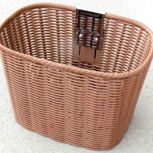 WOVEN LOOK PLASTIC BASKET TO SUIT SHOPRIDER