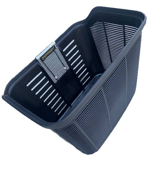 BLACK PLASTIC BASKET TO SUIT CURRENT MODEL SHOPRIDER