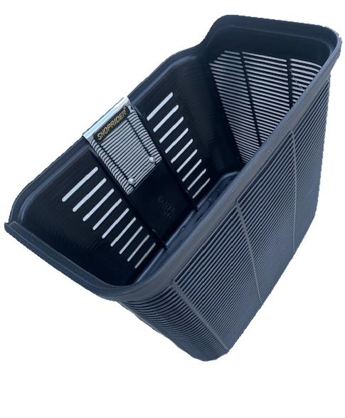 BLACK PLASTIC BASKET TO SUIT CURRENT MODEL SHOPRIDER