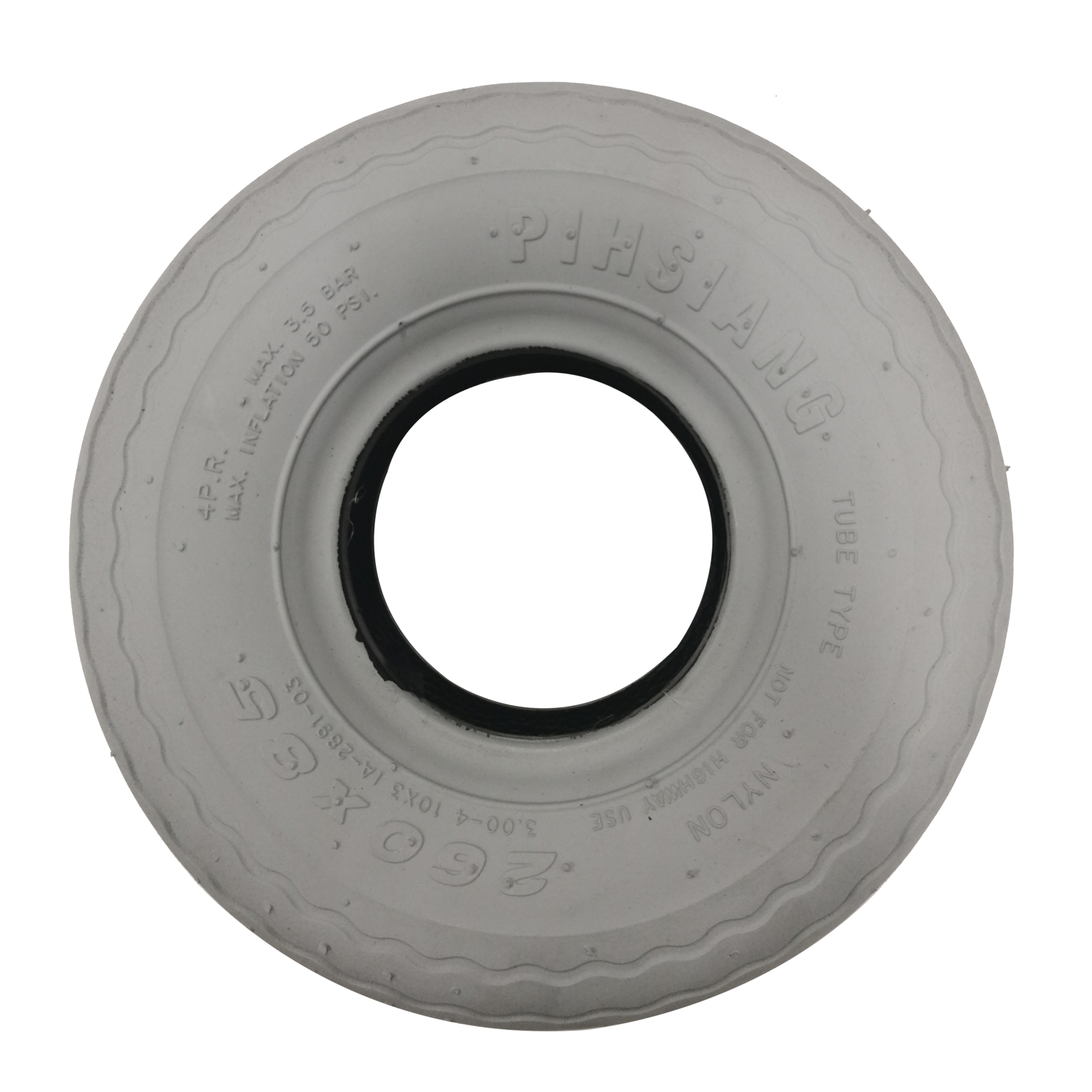 TYRE ,FRONT FOR 889    GRAY FRONT