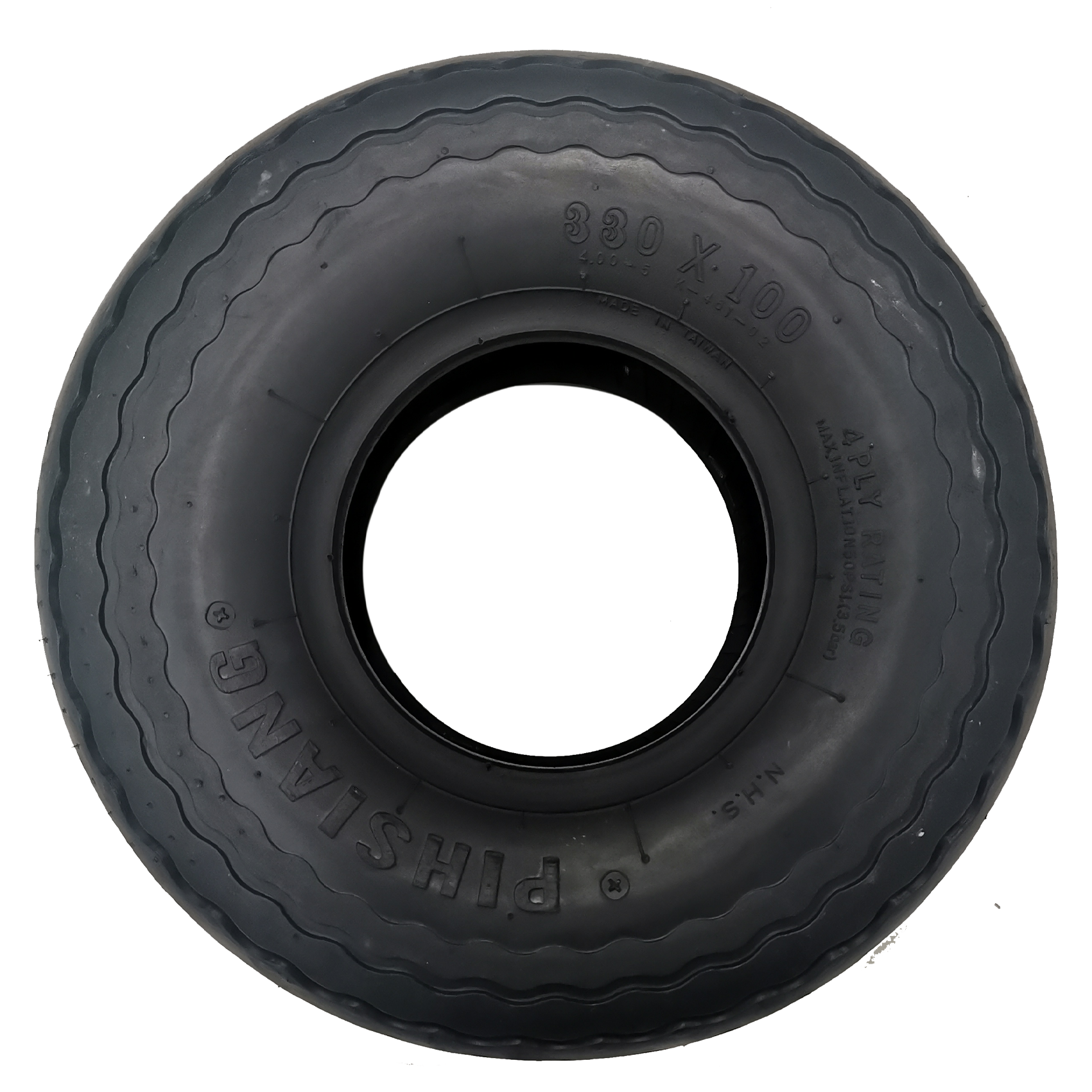 TYRE ,  FRONT BLACK FOR 889