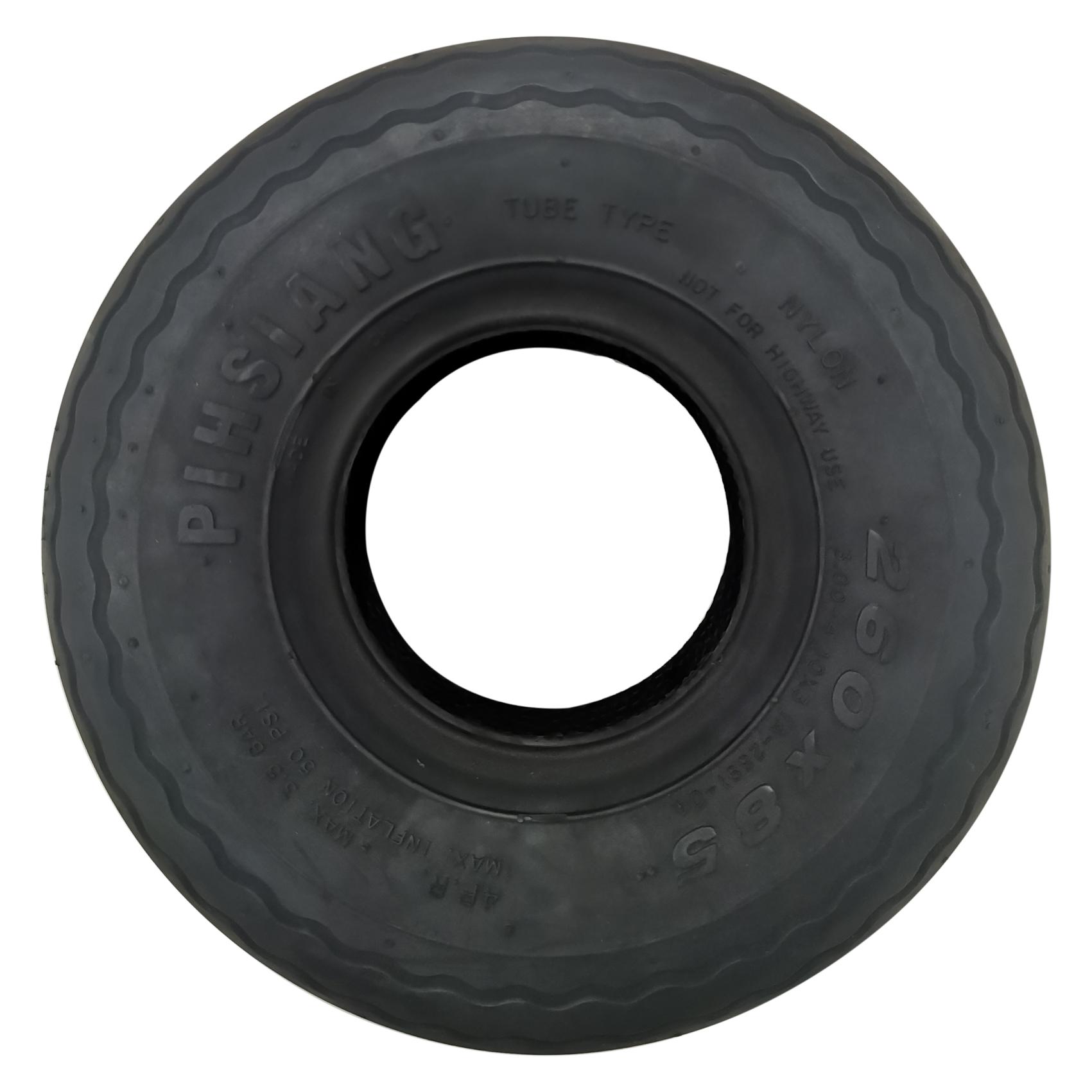 TYRE, 888 FRONT (260 X 85) BLACK