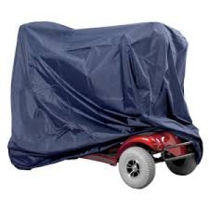 HEAVY DUTY SCOOTER COVERS NAVY BLUE – MEDIUM